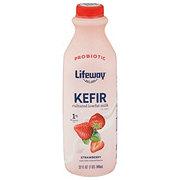 Lifeway Low-Fat Strawberry Kefir Milk Smoothie