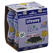 Lifeway Nonfat Blackberry BioKefir