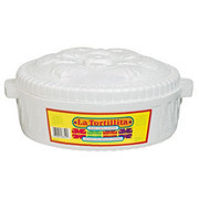 Lifoam Brand Foam Tortilla Warmer With Lid La Tortillita