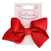 Lil' Duds Fashion Bow- Red