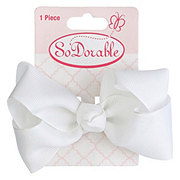 Lil' Duds Fashion Bow- White