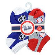 Lil' Duds Ankle Socks, 5-6 1/2