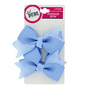 Lil' Duds Fashion Bow Clippies- Light Blue