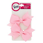Lil' Duds Fashion Bow Clippies- Light Pink