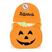 Lil' Duds Halloween Bib And Cap