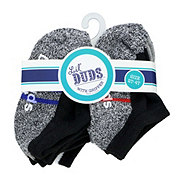 Lil' Duds No Show Socks with Grip, 2-4t