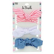 Lil' Duds Tied Bow Headwraps