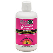 Lily of the Desert Aloe Vera 80 Stomach Formula Concentrated Aloe Vera Gel With FOS An&d Natural Herbal Blend