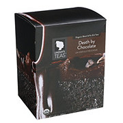 Lindsay's Teas Organic Black & Pu-erh Teas Death By Chocolate Pyramid Tea Bags
