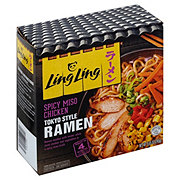 Ling Ling Spicy Miso Chicken Tokyo Style Ramen