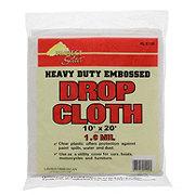 Linzer Plastic Drop Cloth 10 x20 in