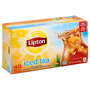 Lipton Black Iced Tea Bags Family-Sized
