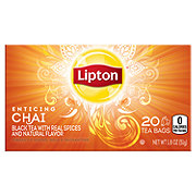 Lipton Black Tea Bags Enticing Chai