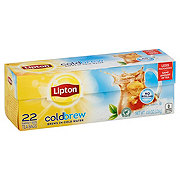 Lipton Cold Brew Family Size Black Iced Tea Bags