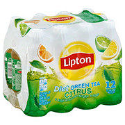 Lipton Diet Citrus Green Tea 16.9 oz Bottles
