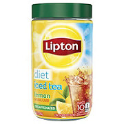 Lipton Diet Decaffeinated Lemon Iced Tea Mix