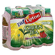 Lipton Diet Green Tea With Mixed Berry 16.9 oz Bottles