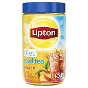Lipton Diet Peach Iced Tea Mix