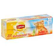 Lipton Family-Sized Black Iced Tea Bags Southern Sweet Tea