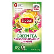 Lipton Green Tea Bags Orange Passionfruit Jasmine