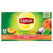 Lipton Green Tea Bags White Mangosteen Peach