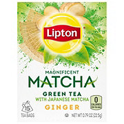 Lipton Green Tea Magnificent Matcha with Ginger