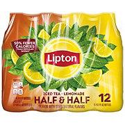 Lipton Half & Half Iced Tea with Lemonade 16.9 oz Bottles