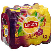 Lipton Iced Tea Berry Splash 16.9 oz Bottles