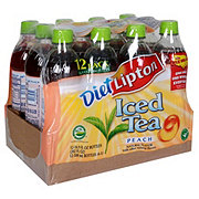 Lipton Iced Tea Diet Peach 16.9 oz Bottles