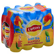 Lipton Iced Tea Mango 16.9 oz Bottles