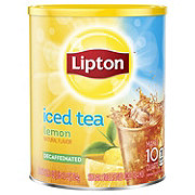 Lipton Iced Tea Mix Decaffeinated Lemon Sweetened