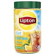 Lipton Iced Tea Mix Diet Decaffeinated Lemon