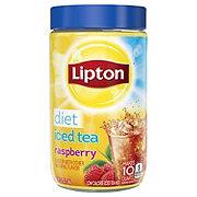 Lipton Iced Tea Mix Diet Raspberry