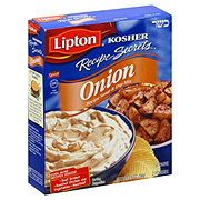 Lipton Kosher Recipe Secrets Onion Recipe Soup And Dip Mix