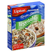 Lipton Kosher Recipe Secrets Vegetable Recipe Soup and Dip Mix