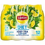 Lipton Lemon Diet Iced Tea 16.9 oz Bottles