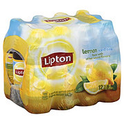Lipton Lemon Iced Tea 16.9 oz Bottles