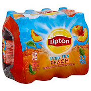 Lipton Peach Iced Tea 16.9 oz Bottles