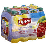 Lipton Raspberry White Tea 16.9 oz Bottles