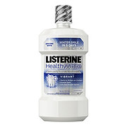 Listerine Healthy White Vibrant Multi-Action Rinse