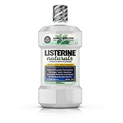 Listerine Naturals Herbal Mint Anticavity Mouthwash With Fluoride