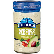 Litehouse Avocado Ranch Dressing with Bacon