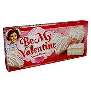 Little Debbie Be My Valentine Pink Cakes