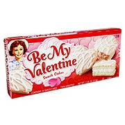Little Debbie Be My Valentine Pink Cakes