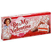 Little Debbie BE My Valentine Strawberry Cakes