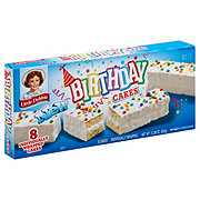 Little Debbie Birthday Cakes