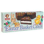 Little Debbie Chocolate Easter Basket Cakes