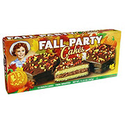 Little Debbie Chocolate Fall Party Cakes