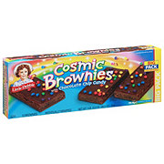 Little Debbie Cosmic Brownies With Chocolate Chip Candy Big Pack