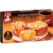 Little Debbie Cream Cheese Streusel Cakes
